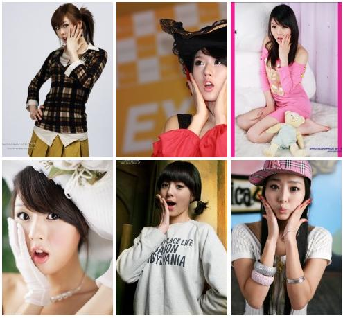 Cute Asian Poses