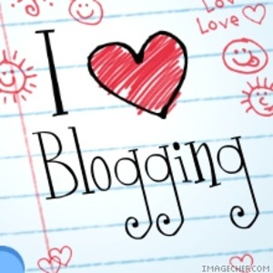 I love blogging!