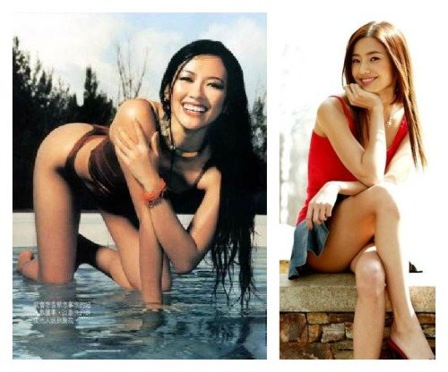 Zhang Ziyi and Han Chae Young